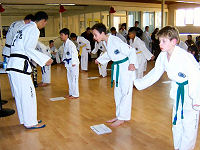 Regels in Taekwon-do