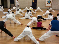 Taekwon-do training