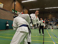 Open Zeeuwse 2006 ITF Taekwon-do sparring